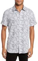 Billy Reid John Print Sport Shirt