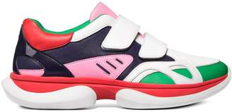 Bubble Double-Strap Sneakers