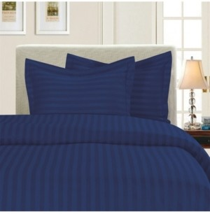 Elegant Comfort Luxurious Silky - Soft Wrinkle Free 2-Piece Stripe Duvet Cover Set, Twin/Twin Xl Bedding