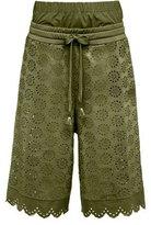 Fenty Puma by Rihanna Tricot Eyelet Basketball Shorts, Green