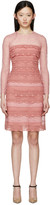 Burberry Pink Tiered French Lace Dress