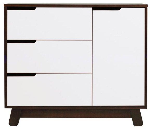 Babyletto Hudson Changer Dresser - Espresso/White