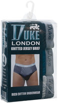 Yours Clothing Duke London 3 PACK of Cotton Briefs