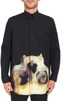 Givenchy Printed Skull Shirt