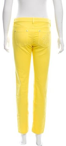 Roberto Cavalli Mid-Rise Skinny-Leg jeans