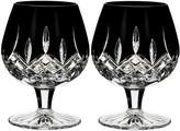 Waterford Lismore Brandy Glass (Set of 2), Black