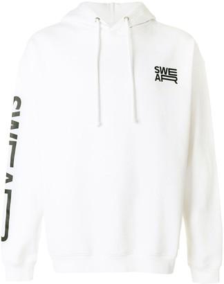 Swear logo hoodie
