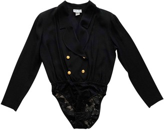 La Perla Black Top for Women Vintage