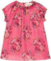 Gucci Baby floral print silk dress