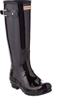 Hunter Women's Original Tall Adjustable Gloss Boot