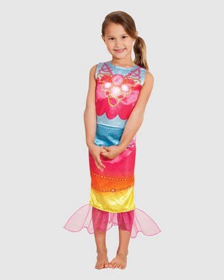 Rubie's Deerfield - Girl's Pink Costumes - Barbie Mermaid Classic Costume - Size 3-4YRS at The Iconic