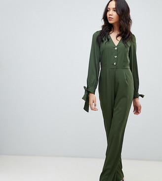 Vero Moda Tall 3/4 Tie Sleeve Jumpsuit