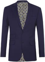Oxford Marlowe Wool Suit Jacket Blue X