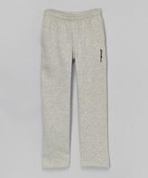 Eddie Bauer Heather Gray Warm-Up Pants - Boys