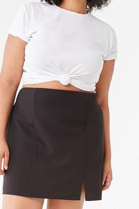 Forever 21 Plus Size Bodycon Mini Skirt
