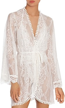 Jonquil Lace Wrap Robe