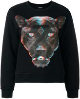 Marcelo Burlon County of Milan panther printed sweatshirt - women - Cotton - XS