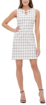 Tommy Hilfiger Millennium Stretch Grommet-Neck Sheath Dress