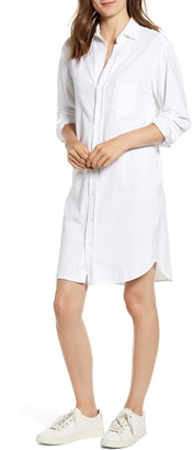 Frank And Eileen Relaxed Button-Up Shirtdress