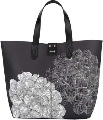 Harrods Small Floral Tote Bag