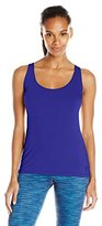 Trina Turk Recreation Women's Lattice Jersey Draped Tank Top