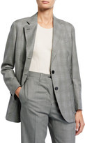 Giuliva Heritage Collection Glen Checked Blazer