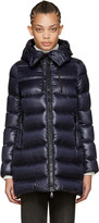 Moncler Navy Down Suyen Coat