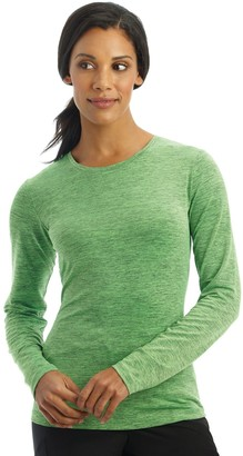 Jockey Women's Scrubs Performance RX Dry Comfort Long Sleeve Tee 2408