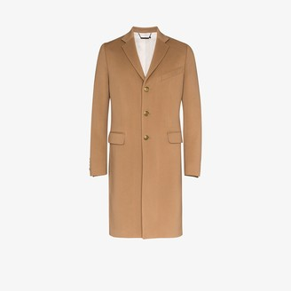 Givenchy Single-Breasted Wool Overcoat