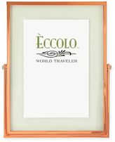 eccolo eccolotm 4 inch x 6 inch floating glass picture frame in copper