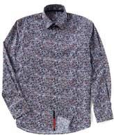Visconti Abstract Dot Long-Sleeve Woven Shirt