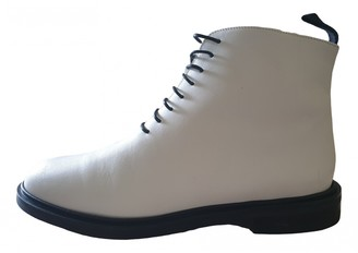 ATP ATELIER White Leather Boots