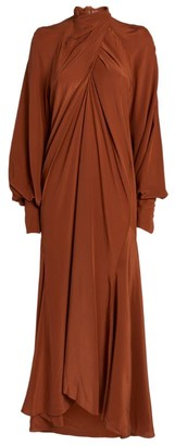 Petar Petrov Silk Abiel Maxi Dress