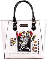 Nicole Lee Women's Jezebel Beaded Patch Shopper Bag