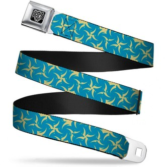 Buckle Down Buckle-Down Unisex-Adults Seatbelt Belt Pinwheel Regular