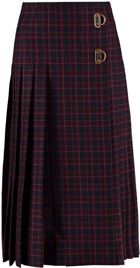 0880de3202 Burberry Wool Skirt - ShopStyle UK