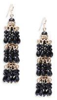 Seabead Layered Linear Earrings