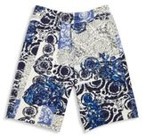 Versace Little Boy's Printed Shorts