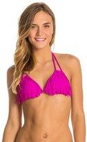 O'Neill Swimwear Solid Fringe Triangle Bikini Top 8113308