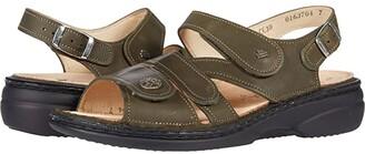 Finn Comfort Gomera-S (Dark Blue Irpino) Women's Sandals