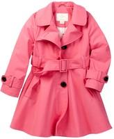 Kate Spade diane trench coat (Toddler & Little Girls)