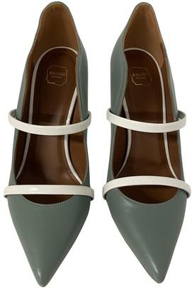 Malone Souliers Maureen Green Leather Heels
