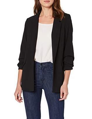 Naf Naf Women's Kenw32d Suit Jacket,14 (Size: )