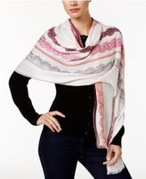 INC International Concepts Lace Print Wrap & Scarf in One, Only at Macy's