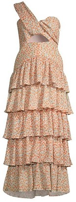Significant Other Escape Tiered Dress