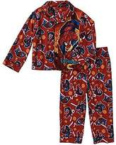 Marvel Ultimate Spiderman Boys Flannel Pajama Set