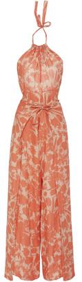 Alexis Shasta Printed Cotton Jumpsuit