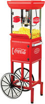 Nostalgia Electrics Nostalgia CCP399COKE 48-Inch Tall Coca-Cola 2.5-Ounce Kettle Popcorn Cart