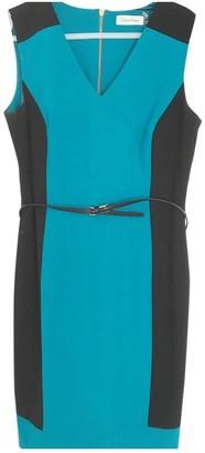 Calvin Klein Turquoise Dress for Women