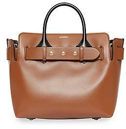 Burberry Women's Small Triple Stud Leather Belt Tote